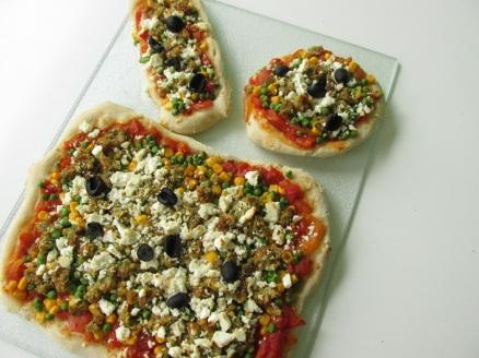 Vegetarische pizza (1)