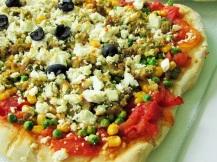 Vegetarische pizza (2)