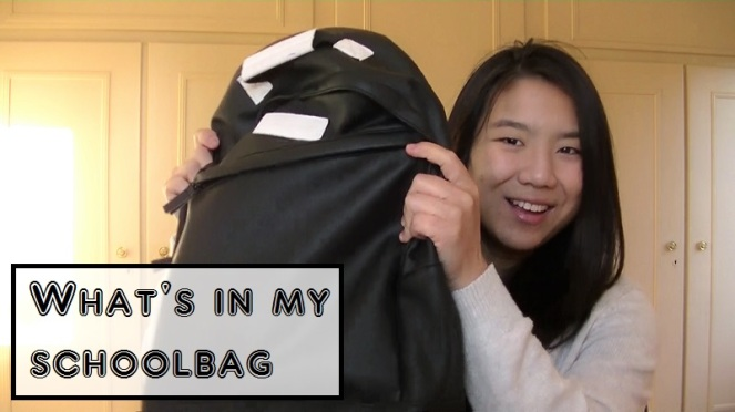 What's in my schoolbag