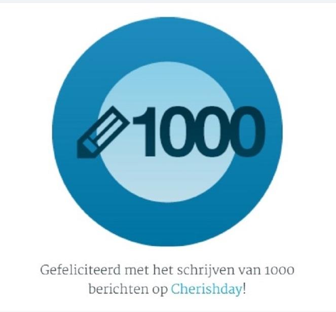 1000 Berichten