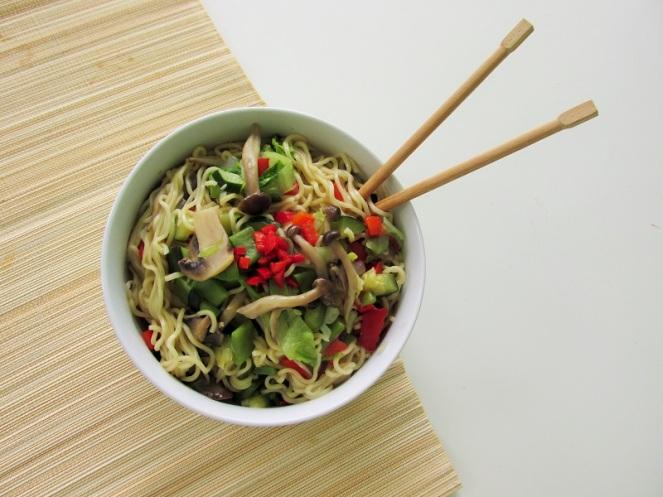 Vegan Vegetables noodles (2)