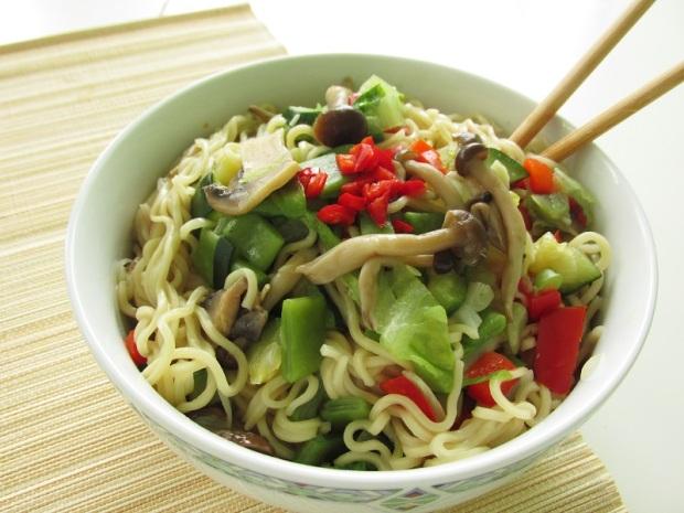 Vegan Vegetables noodles (3)