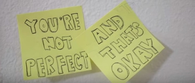You're not perfect and that's okay