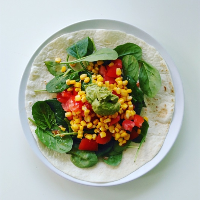 Healthy Vegan Wrap (1)