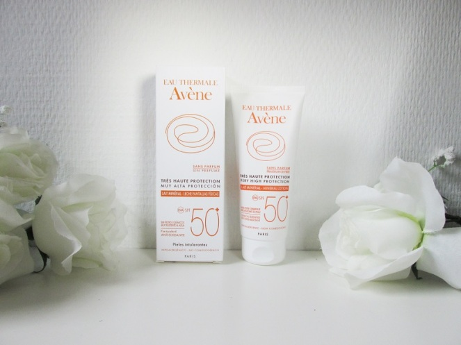 Avene Very High Protection Mineral Lotion SPF 50 zonder parfum (1)