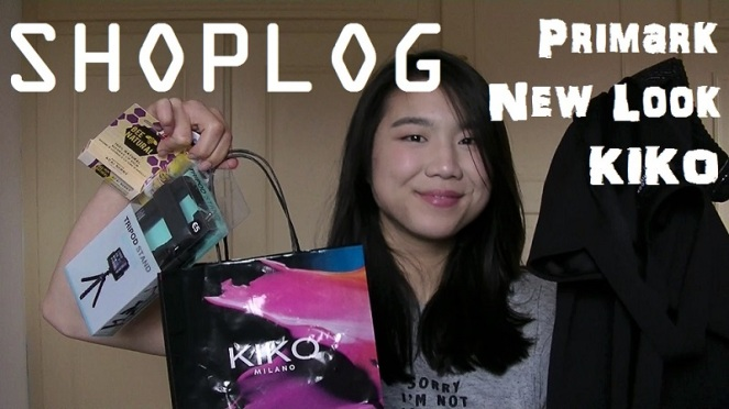 Shoplog Primark , KIKO, New Look