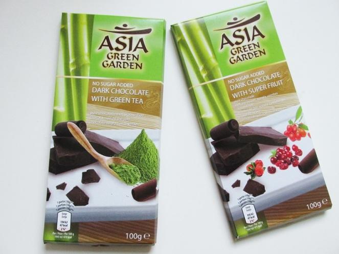 Smaaktest Aldi Asia Green Garden Dark Chocolate (1)