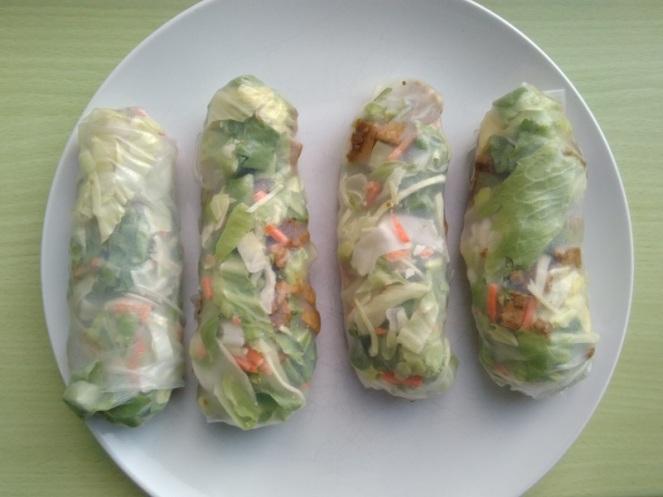Vegan Spring Rolls (1)