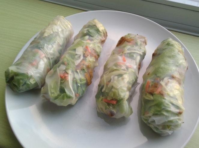 Vegan Spring Rolls (2)