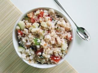 Foodshots Healthy Vegan Couscous Salad
