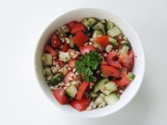 Foodshots Pearl Barley Vegan Salad