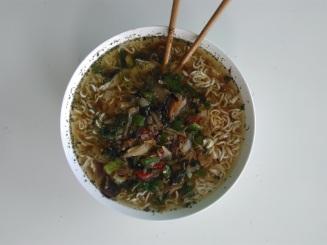 Foodshots Vegan Noodle Soup