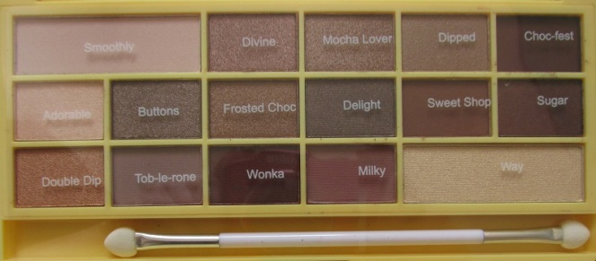 Makeup Revolution Iheartmakeup Naked Chocolate Palette (3)