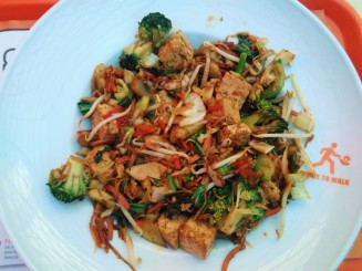 Wok to walk Vegan vegetables