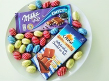Chocolate party Easter Eggs Milka Oreo Cereal Lactosefree Milkchocolate
