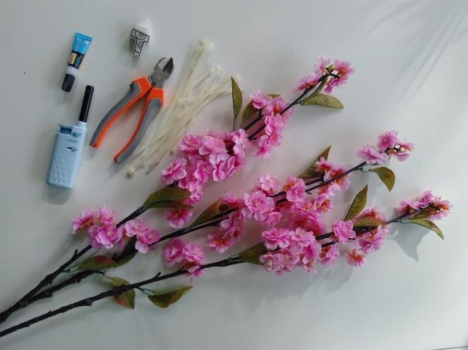 DIY Pimp your bike with flowers (1)