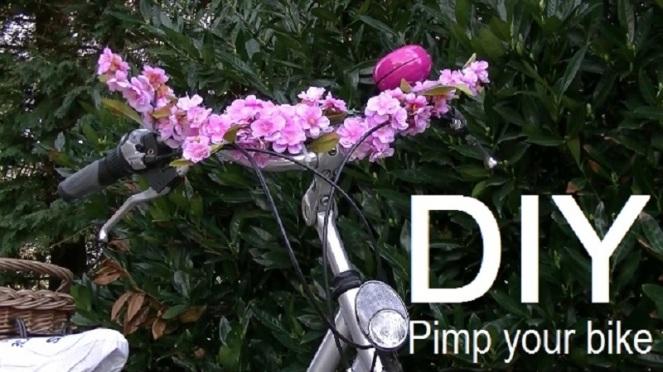 DIY Pimp your bike with flowers (7)