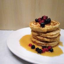 First time vegan pancakes