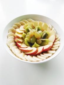 Fruitbowl oatmeal