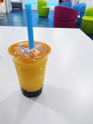 London food Bubble Tea Honey Peach (1)