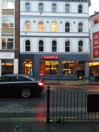 London food Chipotle Veggie Burrito (1)