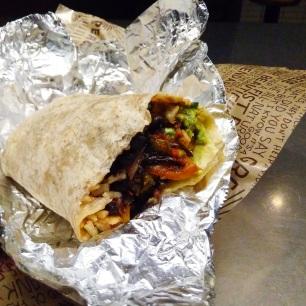 London food Chipotle Veggie Burrito (2)