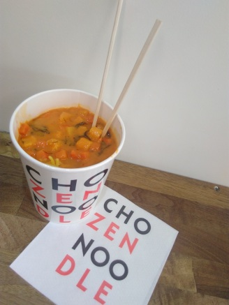 London food ChozenNoodles RedCurry