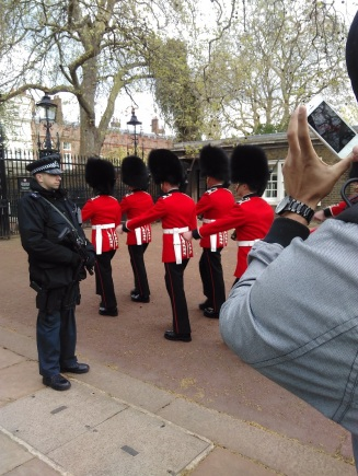 London Change of the guards
