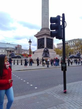 London Trafalgar square lions