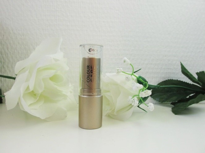 Review Etos Colour Care Lipstick 008 Sensual Nude (1)