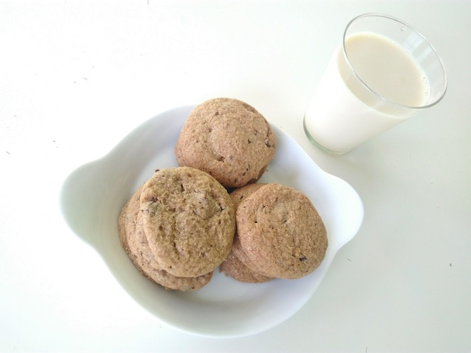 Soft & Chewy Gluten Free Chocolate Chip Cookie (2)