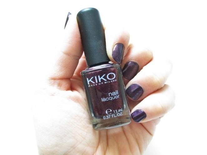 KIKO Nail Laquer 497 Pearly Indian Violet (1)