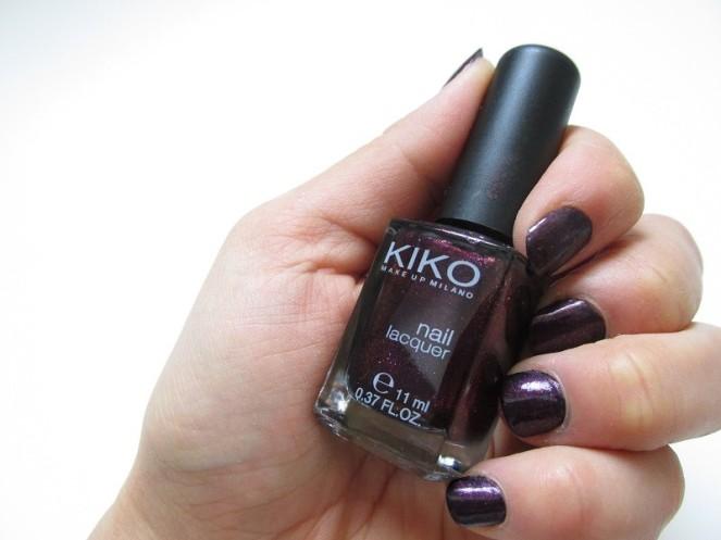 KIKO Nail Laquer 497 Pearly Indian Violet (2)
