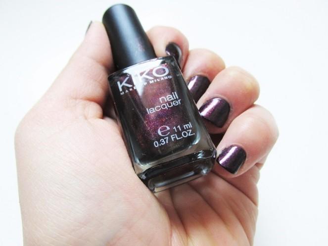 KIKO Nail Laquer 497 Pearly Indian Violet (3)