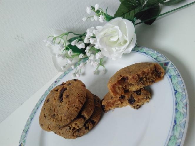 Vegan Erdnuss cookies (3)