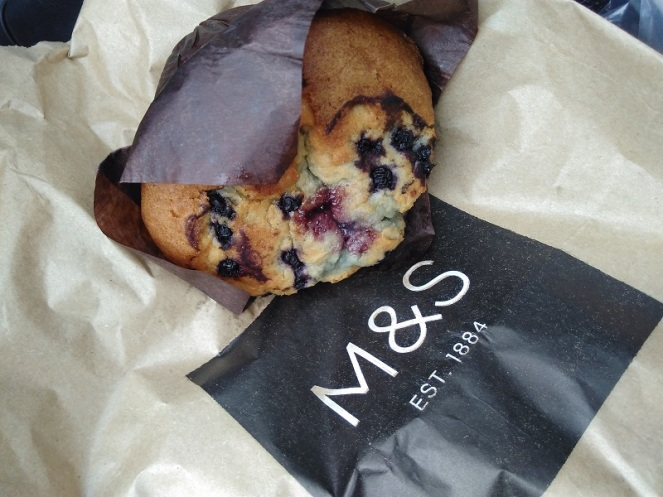 Blueberry Muffin Marks & Spencer's Food Hall
