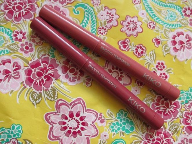 KIKO Smooth Temptation Lipstick 06 Rosewood 04 English Rose (1)
