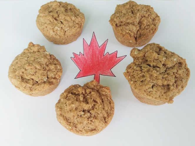 Maple Syrup Oatmeal Muffins (2)