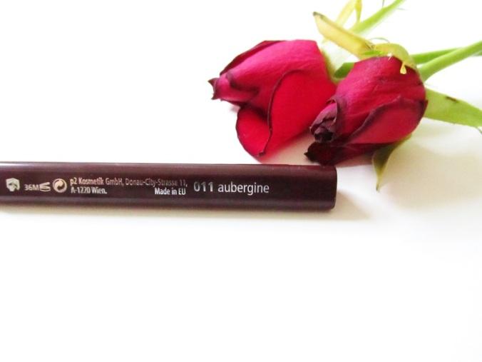 P2 Perfect Look Lipliner 011 Aubergine (3)