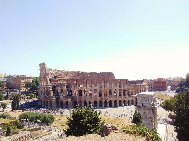 Personal Citytrip Italy – Rome Colloseum (1)