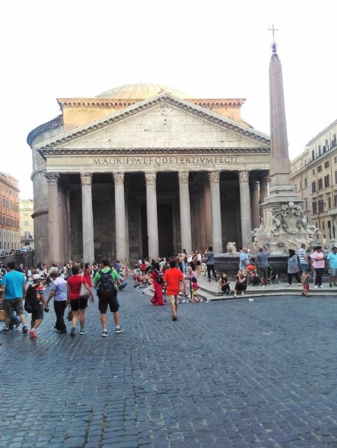 Personal Citytrip Italy – Rome Pantheon