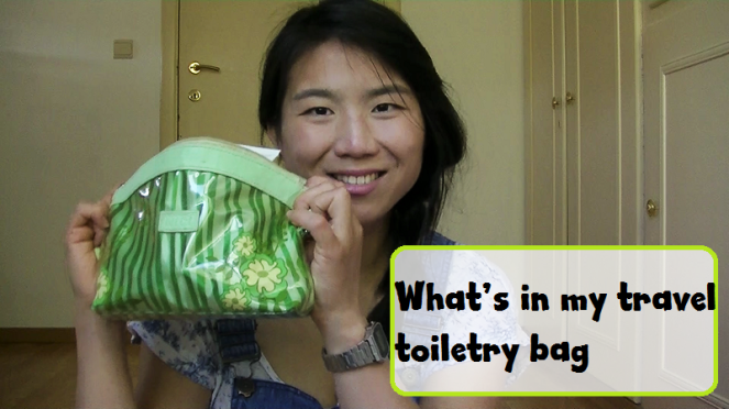 What's in my toiletry bag