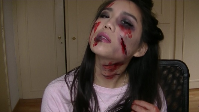 last-minute-halloween-makeup-zombie-girl-1