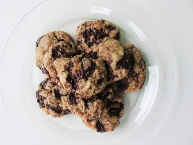Vegan Chocolate Chip cookies (1)