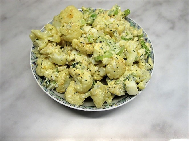 Vegetarian Cauliflower Salad (1)
