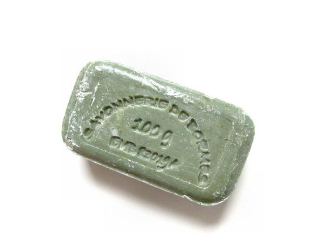 Dille& Kamille Groene klei zeep (3)