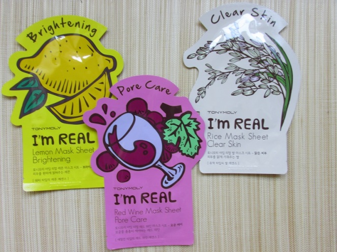 Tony Moly sheet mask