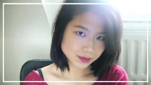 Glowy brown makeup (1)